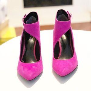 Vintage Heels Nine West Pink Size 7.5